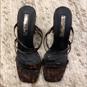 BRAND NEW Princess Polly Tortoise Heels